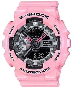 G-Shock G-shock Gmas110mp-4a2 Series Analog Digital Pink Watch Digital Analog