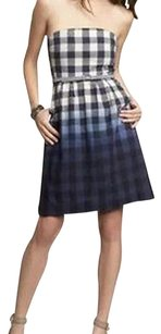 Gap short dress Blue Ombre Plaid on Tradesy