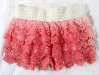 Gee Gee Lace Scalloped Ss Shorts