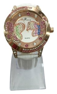 Geneva Bling Bling Butterfly Geneva Women Watch