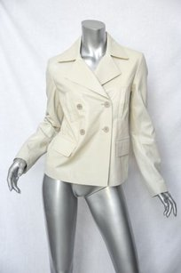 GERARD DAREL Leather Whites Jacket