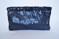 GERARD DAREL Dark Navy Blues Clutch