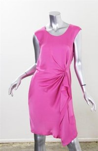 GERARD DAREL short dress Pink Womens Silk on Tradesy