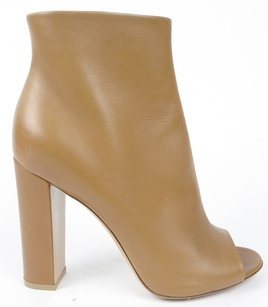 Gianvito Rossi Leather Almond Boots