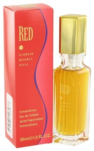 Giorgio Armani Red By Giorgio Beverly Hills Eau De Toilette Spray 1 Oz