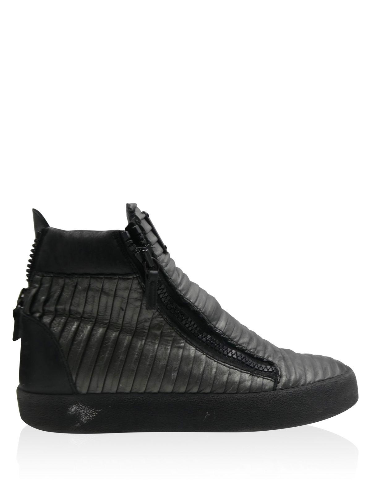 Giuseppe Zanotti Leather High-To... clearance low price fee shipping discount shop offer 2014 cheap online pictures online ZTrYG94QF