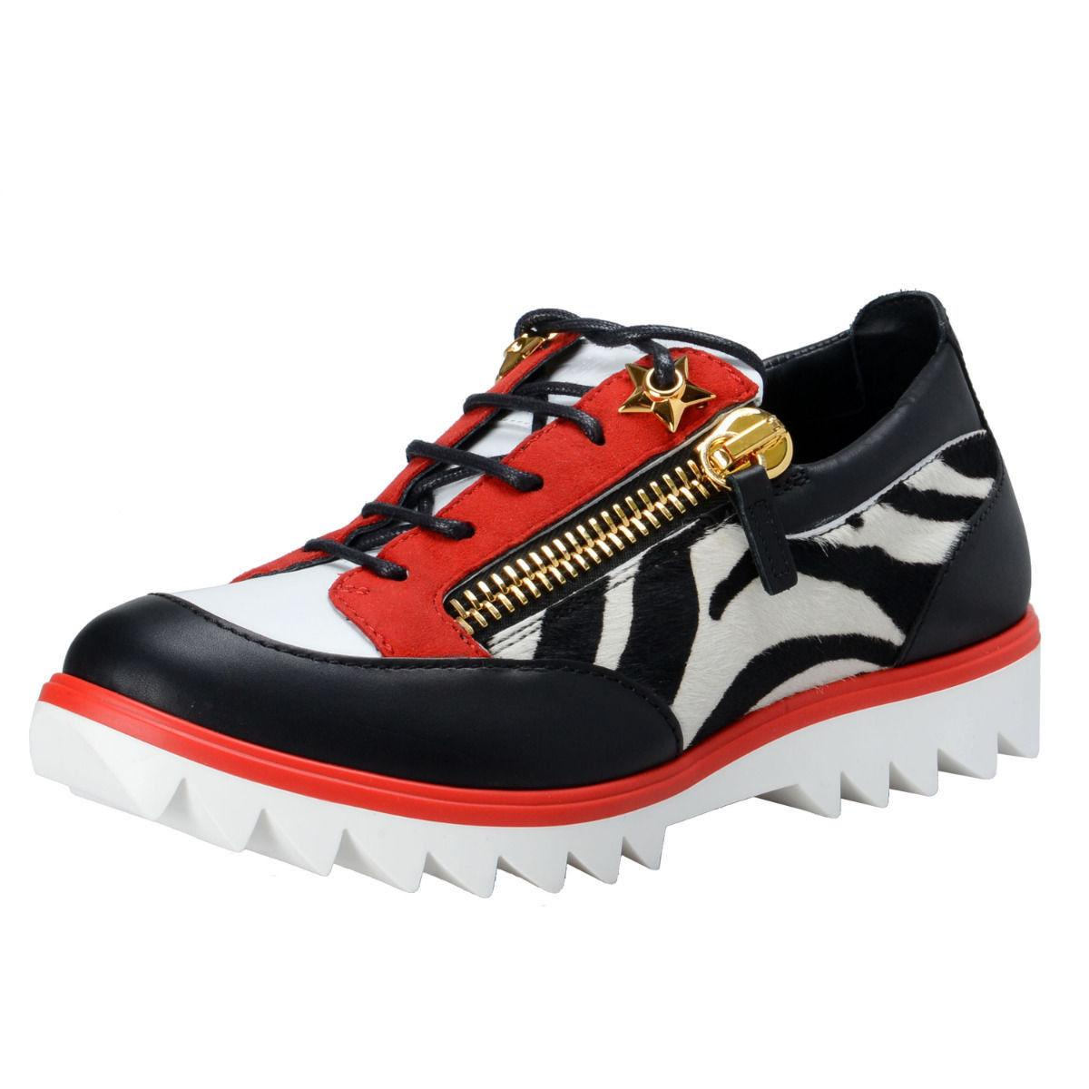 bc49c602d373 Gentleman Lady-Giuseppe Zanotti Multi-color Women s Pony Hair Fashion Sneakers  Sneakers Size