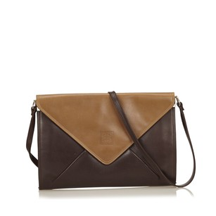 Givenchy Beige Brown Leather 6agvsh002 Shoulder Bag