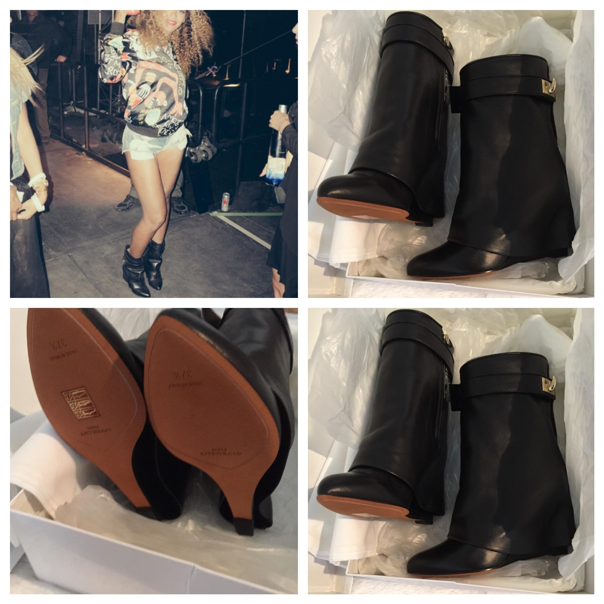 Givenchy Black Boots/Booties Size US 7.5 Narrow (Aa, N)