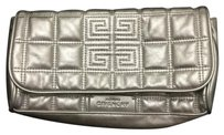 Givenchy Silver Clutch