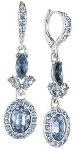 Givenchy Givenchy Oval Halo Double Drop Earrings