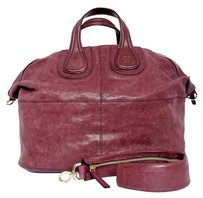 Givenchy Nightengale Plum Shoulder Bag