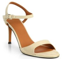 Givenchy Suede Ankle Strap Taupe Pumps