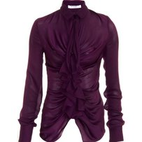 Givenchy Semi Sheer Top Purple