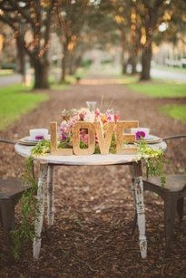 Glitter Love Sign Gold Free Standing Letters Handmade Photo Prop Sweetheart Table