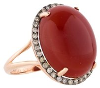 14.12CTW AGATE AND DIAMOND RING