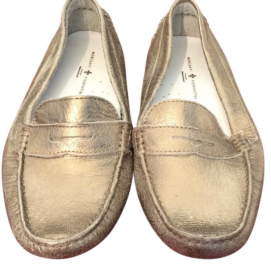 ccfe5fca8488 Gold Gold Gold Loafers Flats Size US 9.5 Regular (M