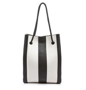 Golden Lane Tote in BLACK AND WHITE