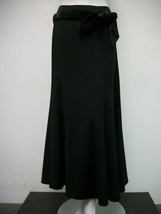 Grace Elements Belted Maxi Skirt Black