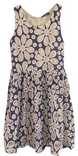 Gracia short dress Navy And White on Tradesy