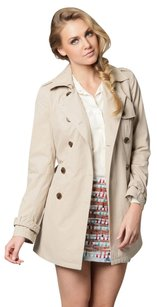 Gryphon Double Breasted Longsleeve Trench Coat