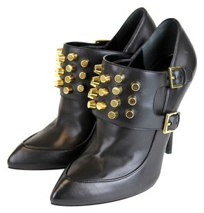 Gucci Alexandra Leather Bootie Black Boots