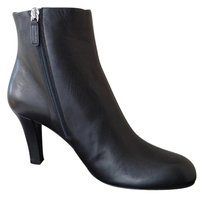 Gucci Leather Bootie Black Boots