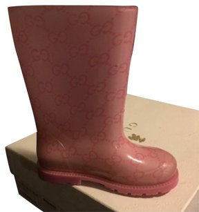 Gucci Pink Boots