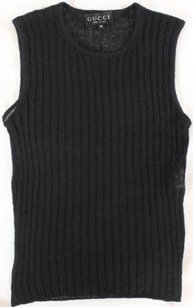 Gucci Wonder Ribbed Top Black