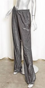 Gucci Womens Metallic Pants