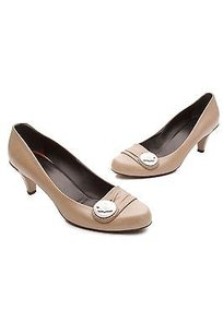 Gucci Leather Caramel (Brown) Pumps