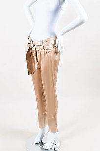 Gucci Silk Straight Leg Pants
