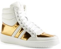 Gucci Ronnie High Top Sneaker White Athletic