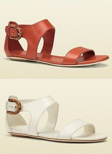 Gucci Nadege Leather Wstirrup Bamboo Buckle 338714 Sandals