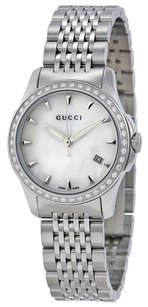 Gucci G Timeless Diamond Bracelet Watch