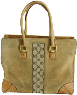 Gucci Bucket Tote in Golden Brown