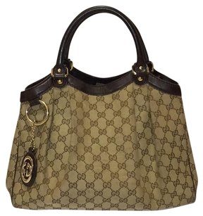 Gucci Gg Monogram Hobo Bag