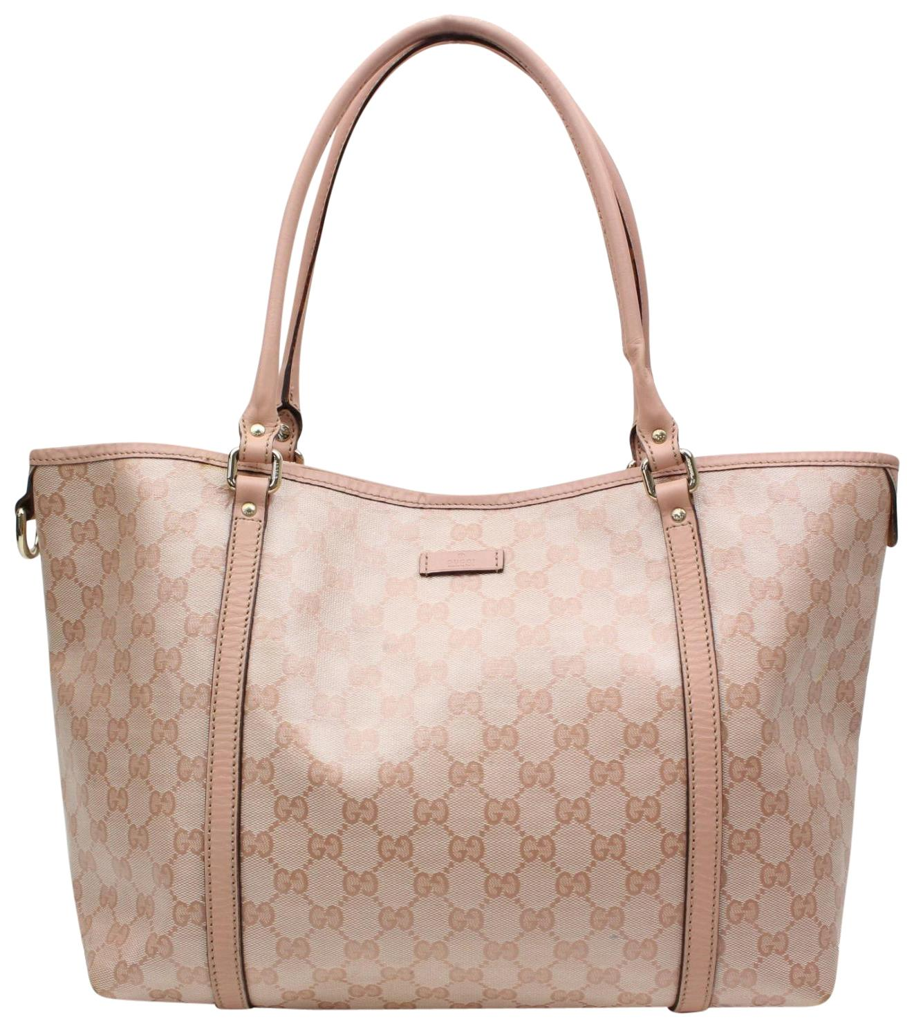 gucci bags pink. gucci gg tote leather patent canvas shoulder bag bags pink e
