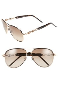 Gucci Gucci 58mm Marina Chain Aviator Sunglasses