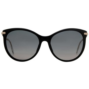 Gucci Gucci Black/Gold Crystal Bamboo Women's Cat Eye Sunglasses