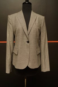 Gucci Gucci Blackwhite Houndstooth Blazer With Tags 10539
