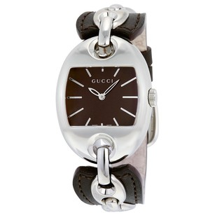 Gucci Gucci Chain Brown Dial Ladies Watch