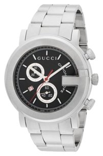 Gucci Gucci Chronograph Stainless Steel Bracelet Watch