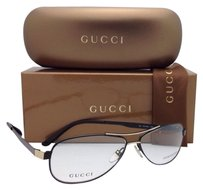 GUCCI GUCCI Eyeglasses GG 1884 PDE 55-12 Matte Black & Gold Frame w/ Demo Lenses
