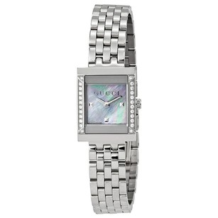 Gucci Gucci Mother of Pearl Dial Stainless Steel Diamond Ladies Watch