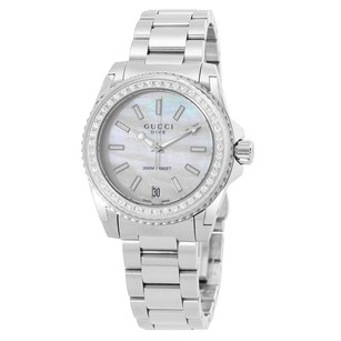 Gucci Gucci Mother Of Pearl Dial Stainless Steel Ladies Watch