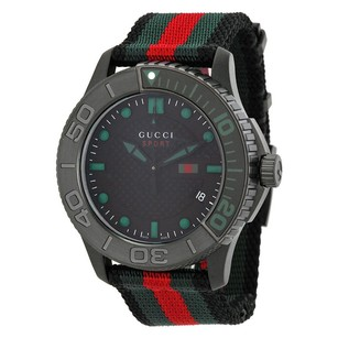 Gucci Gucci Nylon Strap Mens Watch