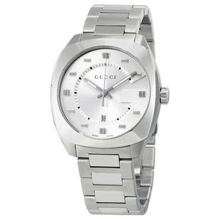 Gucci Gucci Quartz Silver Dial Mens Watch