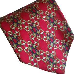 Gucci GUCCI Red Links Silk Tie