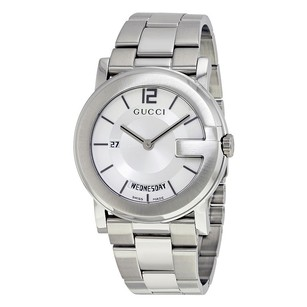 Gucci Gucci Silver Dial Mens Watch